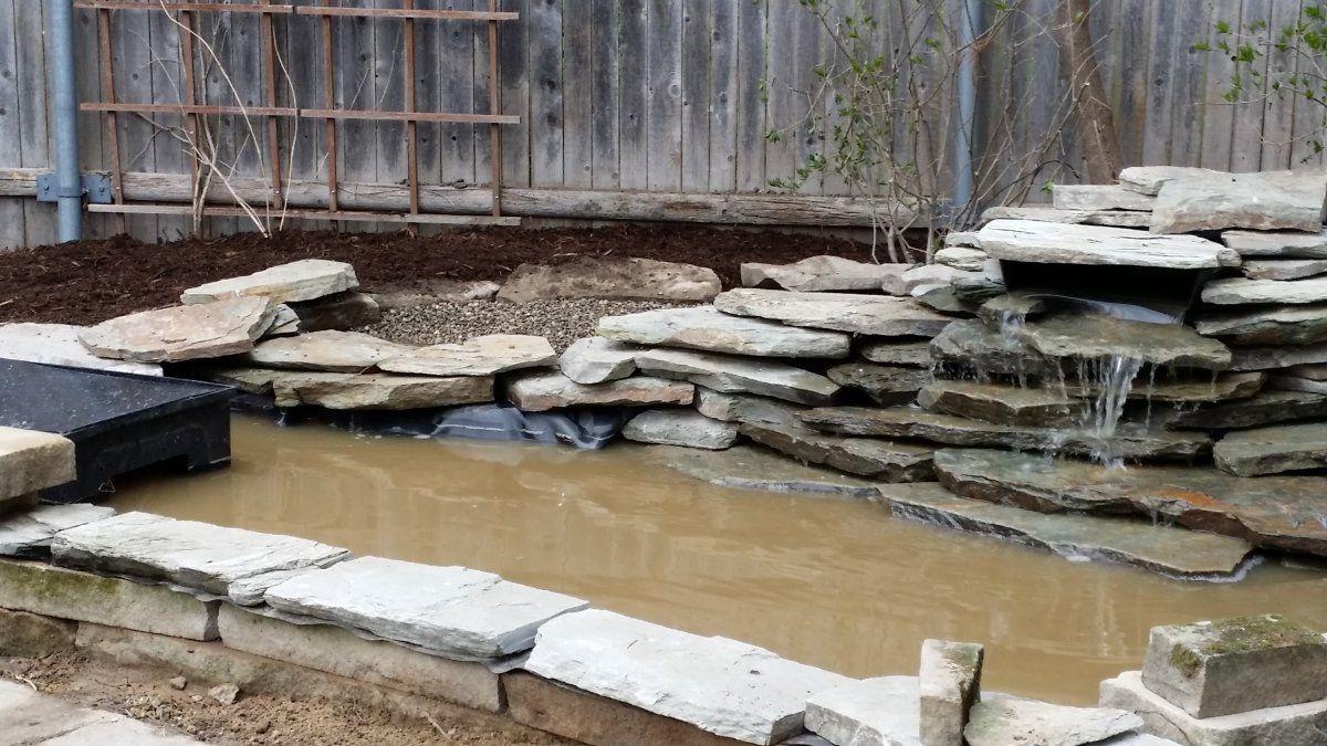 How do you get rid of pea gravel silt in a new bog for Garden pond gravel