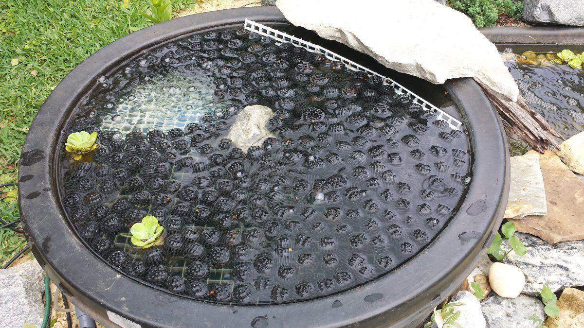 Bio barrel garden pond forums for Homemade bio filter