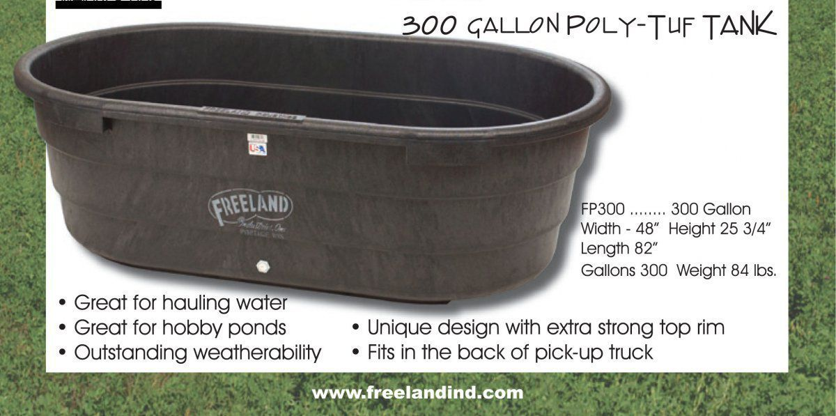 Stock tank pond garden pond forums for Fish stock tank