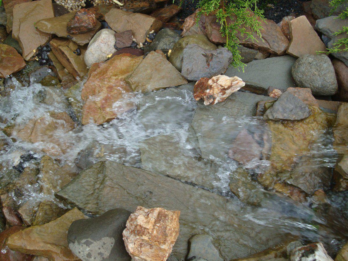 My bog filter build garden pond forums for Bog filter waterfall