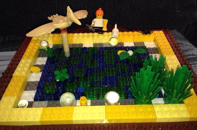 My lego pond garden pond forums for Lego garden pool