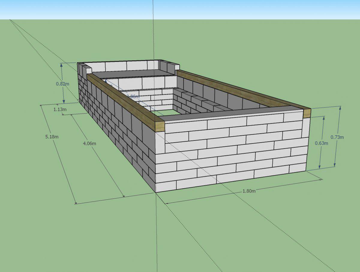 Raised Pond Design Underway Garden Pond Forums