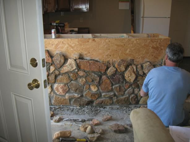 Real mortar vs  the stuff in the tube | Garden Pond Forums